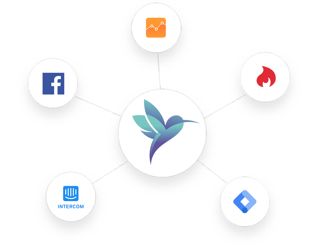 Integrate with other software solutions - Easily integrate Google Analytics, Google Tag Manager, Facebook Pixel or any other software solution.